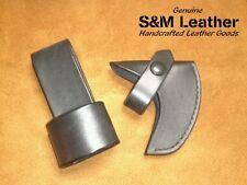 Cold Steel Frontier Hawk Tomahawk Black Leather Sheath Cover & Belt Carry Loop