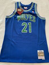 Kevin Garnett Timberwolves Mitchell And Ness Jersey Size Mens Large