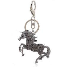 Handbag Buckle Charms Accessories Black Flying Horse Keyrings Key Chains HK103