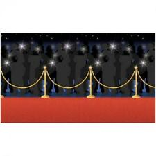Hollywood Red Carpet Scene Setter - 4ft x 50ft - Party Wall Decorations