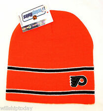 Philadelphia Flyers BEANIE KNIT CAP NHL hockey Stocking hat new with tag