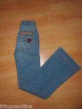 Jean MORGAN Bleach Taille 36 Bleu -  à  -72% neuf
