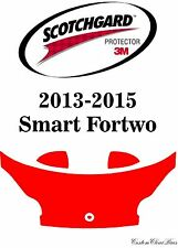 3M Scotchgard Paint Protection Film Pre-Cut Kit 2013 2014 2015 Smart Fortwo
