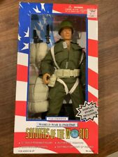 "Vintage SOLDIERS OF THE WORLD 1:6 12"" Action Figure Paratrooper WWII NIB 1996"