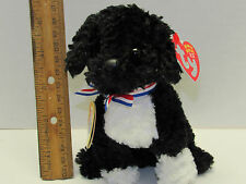 TY BO the Portuguese Water Dog 2.0 Beanie Baby Mint Tag unused code Obamas Pet