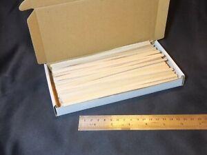 Box of Wooden Spills 230 Wood Spills Splints Tapers Splint NEW