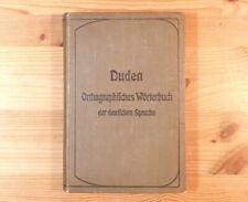 Duden v. 1902, Orthographisches Wörterbuch, 7. Auflage, Sammler, extrem selten!