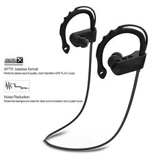 8 hours Wireless Bluetooth Headset Stereo Headphone Sport for iPhone LG Samsung