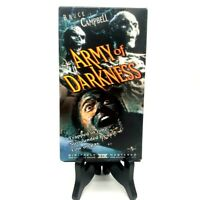Army Of Darkness Vintage 1992 VHS Universal Near Mint Tested Bruce Campbell