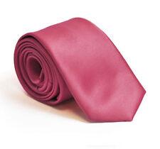 Cravate bleus en satin pour homme