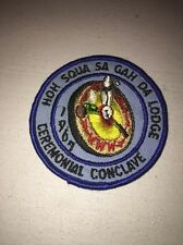Boy Scouts Of America Order Of The Arrow 1967 Hoh-squa-sa-gah-da Ceremonial Conc