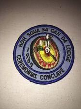 Boy Scouts Of America Order Of The Arrow 1967 Hoh-squa-sa-gah-da Ceremonial Conc