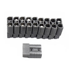 10PCS Battery Quick Connector Kit 50A Gray Plug Connect Disconnect Winch Trailer