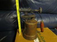 Vintage Antique Turner Brass Soder Torch Gas Blow Torch (1)