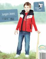hochwertige Kinder Jeans 100% Baumwolle Jeanshose Jungen mit Gummizug Öko Tex