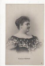 Gisela Koerner Austria Actress / Singer Vintage RP Postcard 373a