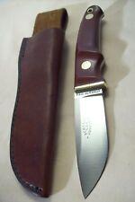 1976~LOVELESS SCHRADE RL2~UNUSED CUSTOM HUNTER~LTD. ED. HUNTING KNIFE w/SHEATH~