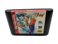 Earthworm Jim Sega Genesis Playmates Interactive Entertainment Cartridge Only