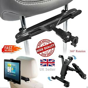 Universal In Car Back Seat Headrest Mount Holder Cradle for iPad All Tablets Pro
