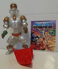 MOTU, Extendar, Masters of the Universe shield 100% complete He Man Mini Comic
