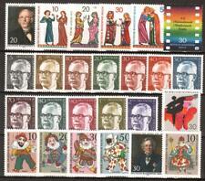 SD100) Berlin 1970-1979 komplett postfrisch, 10 Bilder, 1970, 1971, 1972, 1973..