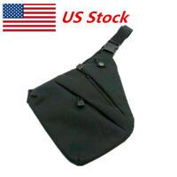 Concealed Storage Gun Bag Holster Right Shoulder Bag Anti-theft Bag Chest Bag US