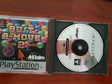 Jeu console vintage PS1 PlayStation 1 PLATINUM : Bust a Move 2 Arcade Edition