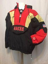 Vintage Authentic STARTER NFL San Francisco 49ers Jacket Adult Large