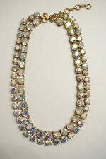 J.CREW Double Strand Crystal Stone Necklace-1