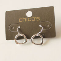 New Chicos Loop Drop Dangle Earrings Gift Fashion Women Party Holiday Jewelry FS