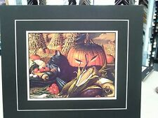 CHARLES WYSOCKI MATTED MONTY MINDING THE STORE BLACK CAT FARM STAND PRODUCE