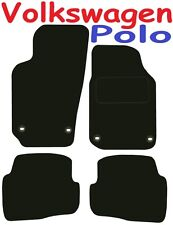 Tailored Deluxe Quality Car Mats Vw Polo 2004-2009 ** Black ** Hatchback Saloon