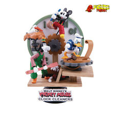Beast Kingdom Disney D-Stage DS-046 Clock Cleaners Mickey Mouse Diorama