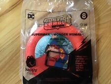 McDonald's happy meal toy 2018 Justice League#8 Superman Wonder Wmn Flying Disk