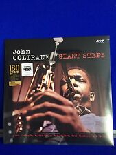 NEW SEALED Jazz Vinyl LP John Coltrane Giant Steps Tenor Sax
