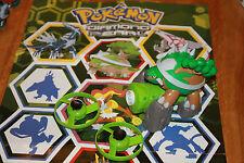 lanceur disque torterra pokemon nintendo bandai 2008 complet!!! très bon état!!!
