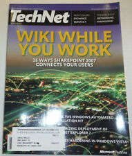 Technet Magazine Wiki While Your Work January 2007 121214R2