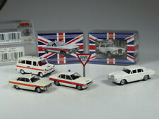 Wiking Brekina UK Collection 1:87-scale, Ford Granada, Transit, Rover P6 Police