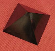 "Shungite Polished Pyramid 4,72"" Healing Protection Schungite from Karelia Russia"