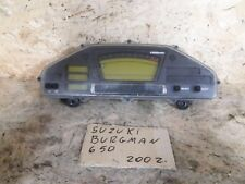 Suzuki Burgman 650 Executive 2002/2007 Strumentazione contachilometri