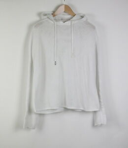 SWEATY BETTY Women ~XX LARGE Perforated Lightweight Knitted Sport Hoodie 21275_