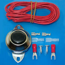Vehicle Universal Horn Button Switch with 10ft Wire and Terminals