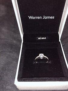 9 Carat White Gold Ring