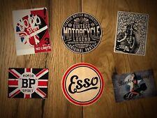 6x Cafe Racer Aufkleber Motorrad England UK Biker Oldtimer Old School TOP Set 14