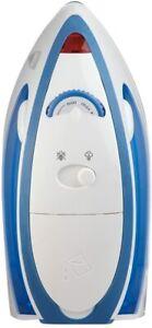 Sunbeam Hot-2-Trot Travel Iron Blue & White New in Box