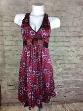 A COMMON THREAD ANTHROPOLOGIE DRESS SIZE SMALL SILK