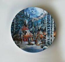 3 Sacred Circle Native American Decorative Plates By Kirk Randle
