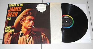 "Lp 33 giri GENE VINCENT Songs of the James Dean Era - 1975 12"" Italy"