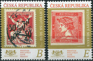 CZECH REPUBLIC - 2020 - SET OF 2 STAMPS MNH ** - Stamp on Stamp