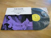 LP Für Elise Klavierstücke Famous Piano Pieces Hungaroton Vinyl HLX 90027